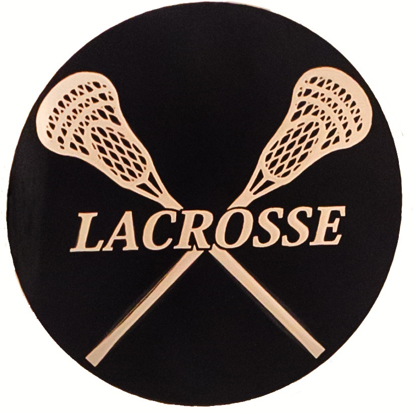 Pin Lacrosse Sticks Crossed Logo on Pinterest
